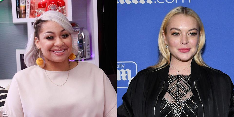 """<p>Symoné and Lohan split the rent for an apartment and pretty much never saw each other despite being roommates. """"She paid rent, and she was there probably three times,"""" Raven told <a href=""""https://www.usmagazine.com/entertainment/pictures/celebrity-roommates-201172/12794/"""" rel=""""nofollow noopener"""" target=""""_blank"""" data-ylk=""""slk:Us Weekly"""" class=""""link rapid-noclick-resp""""><em>Us Weekly</em></a>. """"She had her clothes in the apartment we were supposed to live in together."""" The arrangement didn't last very long.</p>"""