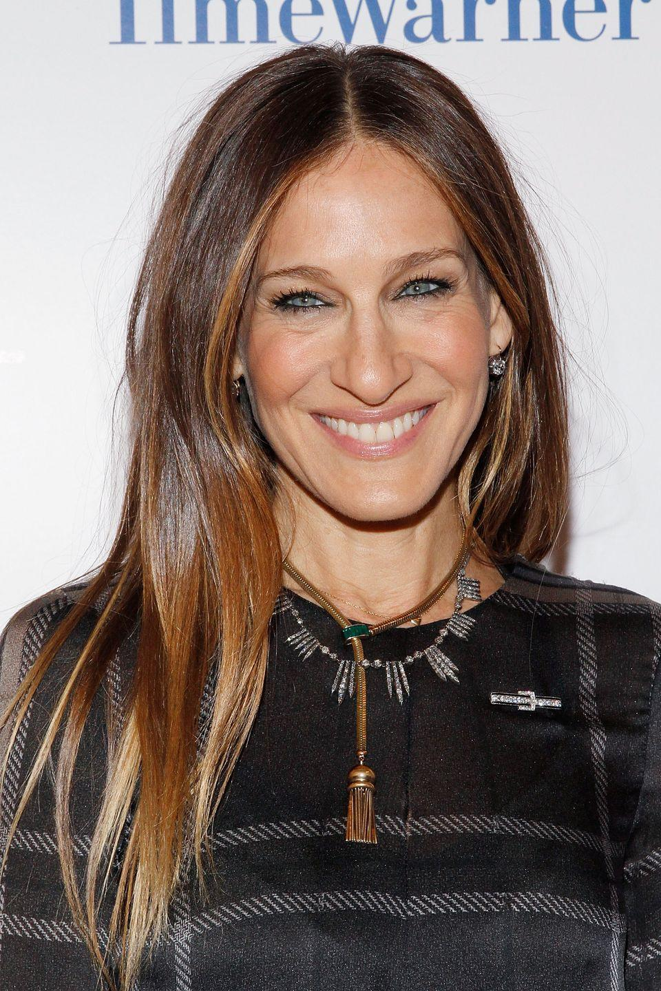 "<p>In a 2016 interview with <em><a href=""http://www.hollywoodreporter.com/rambling-reporter/sarah-jessica-parker-explains-her-no-nudity-stance-943166"" rel=""nofollow noopener"" target=""_blank"" data-ylk=""slk:The Hollywood Reporter"" class=""link rapid-noclick-resp"">The Hollywood Reporter</a></em><span class=""redactor-invisible-space"">,</span><span class=""redactor-invisible-space""> SJP explains her decision not to film any naked scenes throughout the show's six-season run: ""I've always had one, and it's apropos of absolutely nothing. Some people have a perks list and they are legendary. They have to have white candles in their room. I don't have a crazy list like that. I've just always had [a no-nudity clause].""</span></p>"