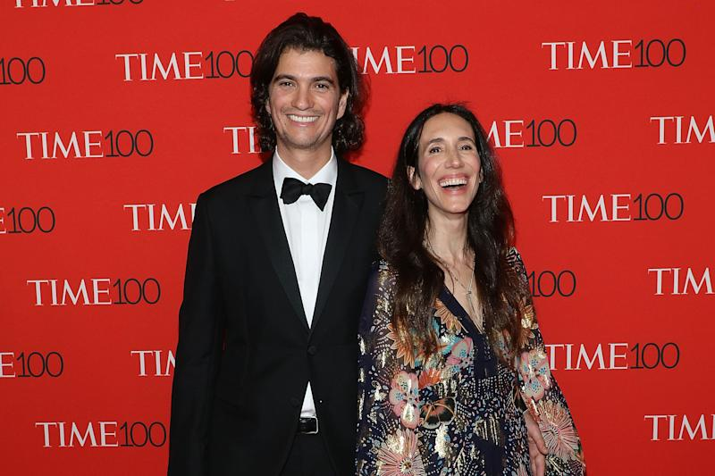 NEW YORK, NY - APRIL 24: Adam Neumann and Rebekah Neumann attend the 2018 Time 100 Gala at Frederick P. Rose Hall, Jazz at Lincoln Center on April 24, 2018 in New York City. (Photo by Taylor Hill/FilmMagic)