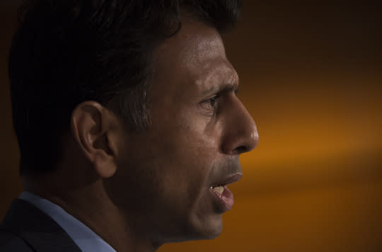 <p><i><b>Better know as:</b> Republican presidential candidate Louisiana Gov. Bobby Jindal. (Photo: Molly Riley/AP)</i></p>
