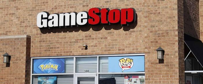 Greenville - Circa April 2018: GameStop Strip Mall Location. GameStop is a Video Game and Electronics Retailer I