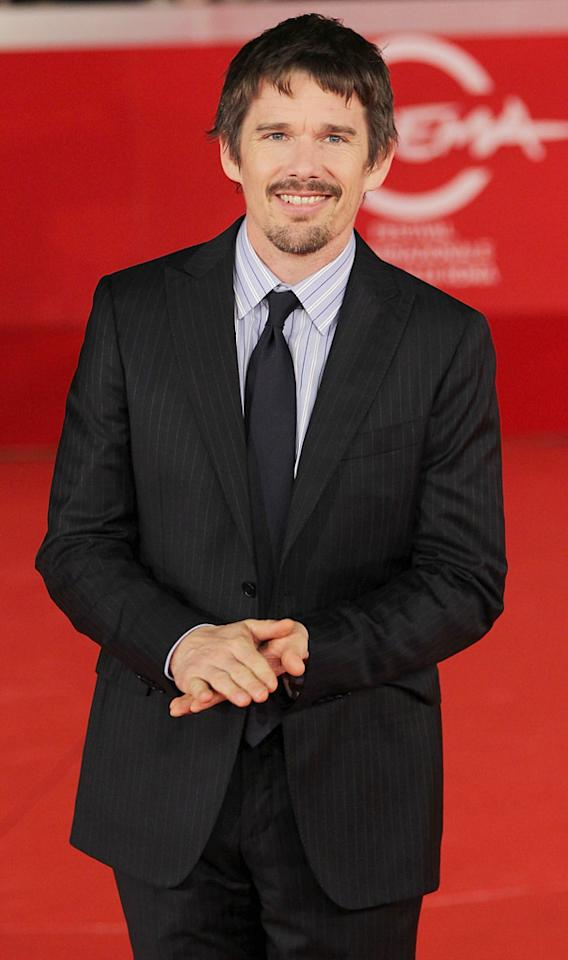 Ethan Hawke's birthday is November 6. He turns 41. (10/30/2011)