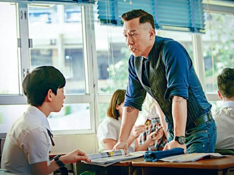 "Donnie Yen plays a soldier-turned-school-teacher in ""Big Brother""."