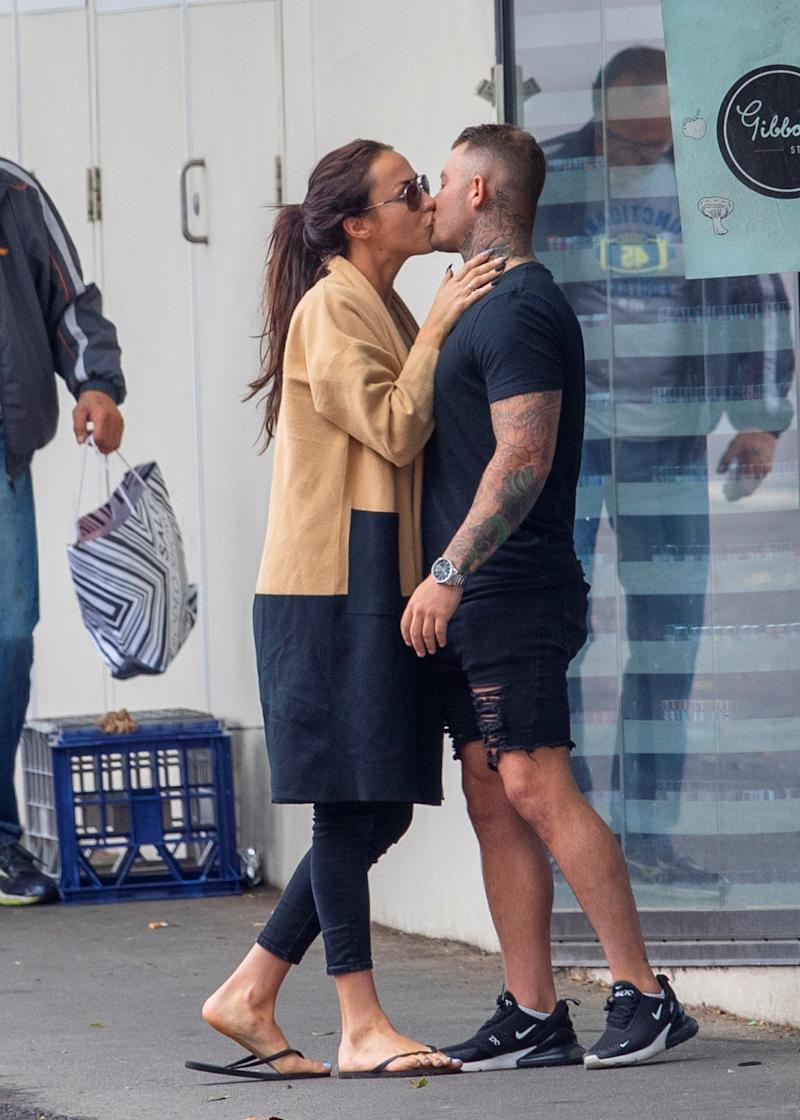 MAFS bride Natasha Spencer was spotted kissing a new man amid rumours she's split from her 'husband' Mikey Pembroke.