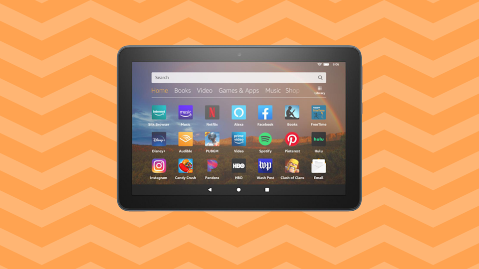 Save nearly 30 percent on this Fire HD 8 tablet. (Photo: Amazon)