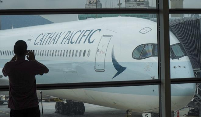 Cathay Pacific and subsidiaries Cathay Dragon and HK Express cut their capacity by 40 per cent. Photo: Roy Issa
