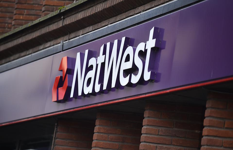 NatWest Bank is a subsidiary of the NatWest group, which is state-backed and 62% owned by the taxpayer. Photo: Nathan Stirk/Getty Images