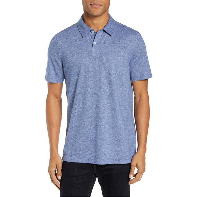 Nordstrom Men's Shop Regular Fit Polo. (Photo: Nordstrom)