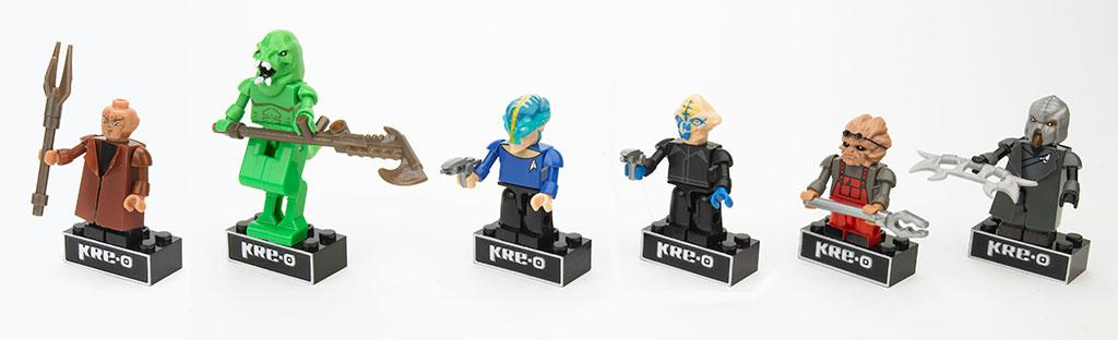 "KRE-O ""Star Trek"" Figure Packs"