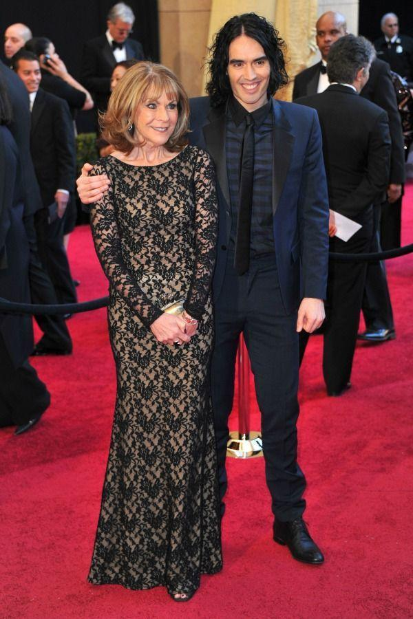<p>Russell made his first Academy Awards appearance special by bringing his mom, Barbara, to share in the moment in 2011.</p>