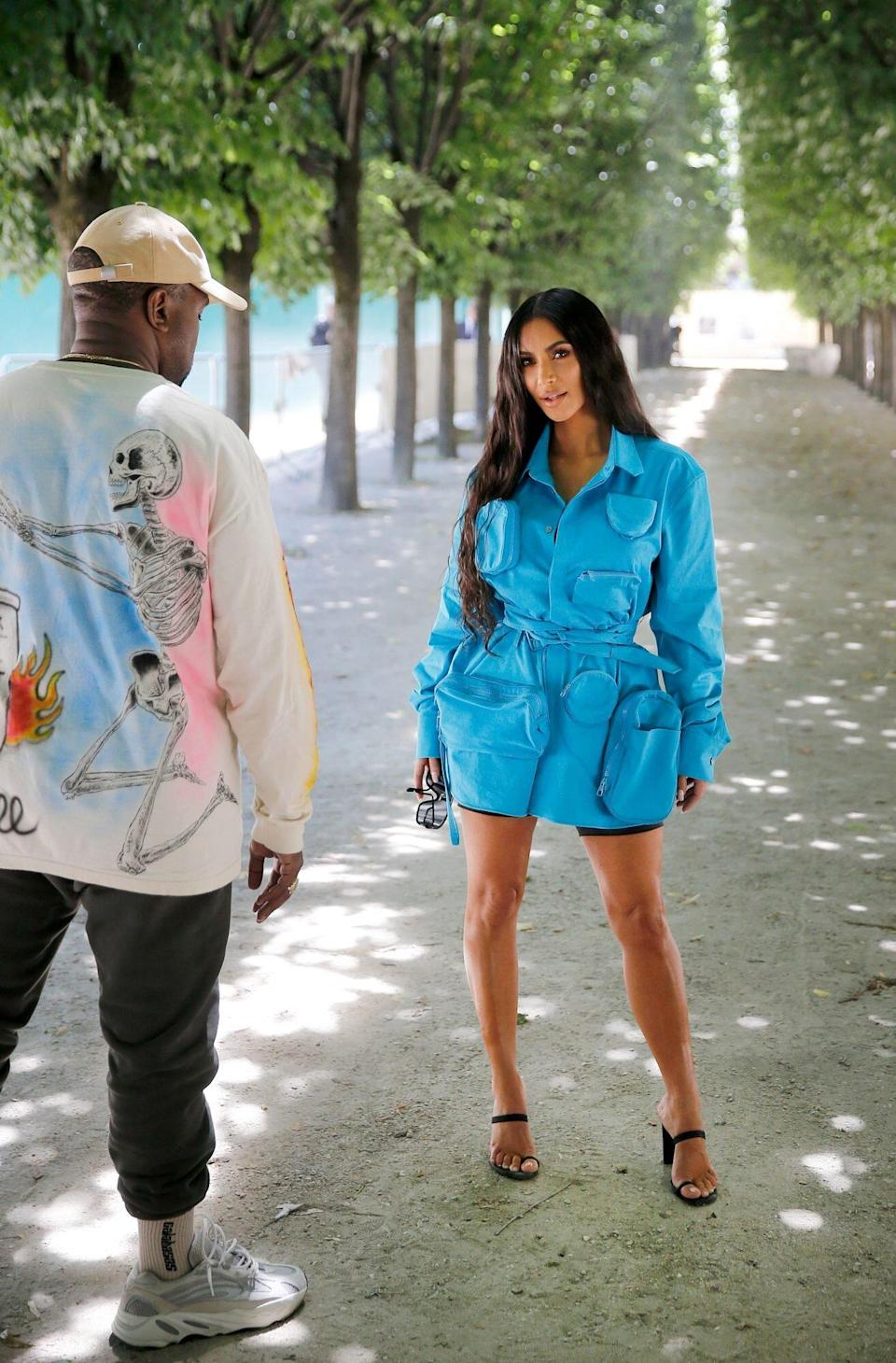 What Will Kim Wear without Ye?
