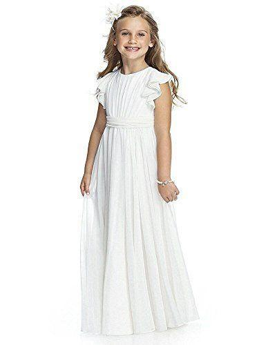 """<p><strong>Abaowedding</strong></p><p>amazon.com</p><p><strong>$39.00</strong></p><p><a href=""""https://www.amazon.com/dp/B072P1BLS9?tag=syn-yahoo-20&ascsubtag=%5Bartid%7C10055.g.33561805%5Bsrc%7Cyahoo-us"""" rel=""""nofollow noopener"""" target=""""_blank"""" data-ylk=""""slk:Shop Now"""" class=""""link rapid-noclick-resp"""">Shop Now</a></p><p>Your little one will feel angelic and glamorous in this floor-length chiffon gown that is what dreams are made of. </p>"""