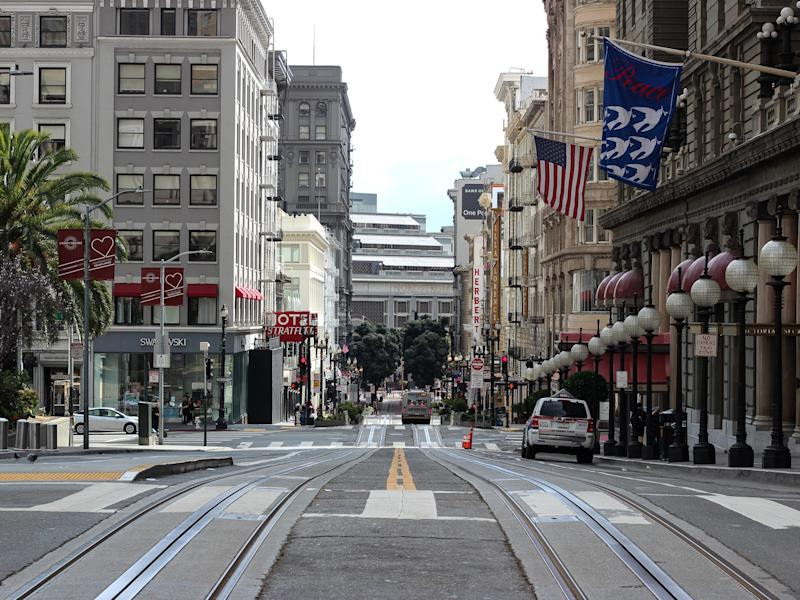 san francisco union square shelter in place