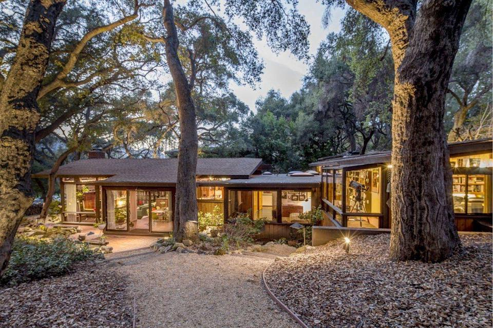 <p>Fans think they have found Bradley Cooper and Lady Gaga's secluded rockstar hideaway and that it might actually be a four-bed, three-bath home in rural Calabasas. While no one from the cast or crew has confirmed the news, I'll be the first to say that this home looks identical to the one shown in the film. From the art studio to the barbecue area, I can see why it was on the market for just over $2 million.</p><p>481 Cold Canyon Rd, Calabasas, CA 91302</p>