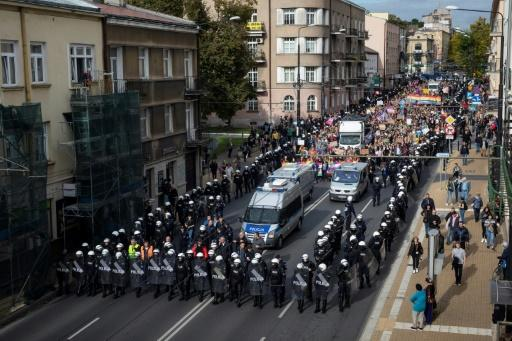 Hostility to the LGBT community in Poland is such that Gay Pride parades have to held under heavy police protection