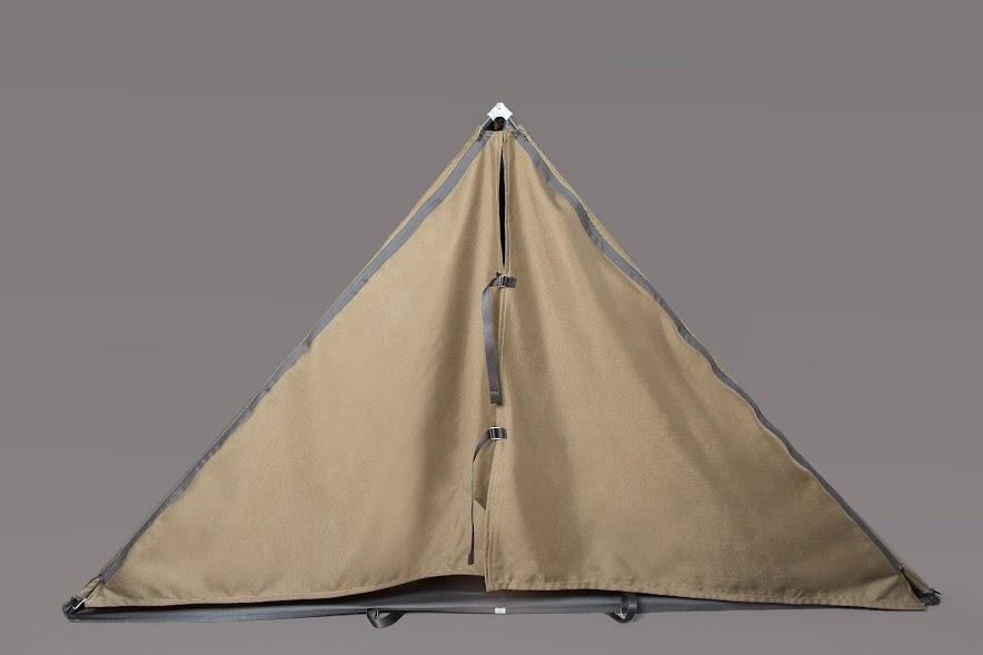 <p>Tent fully erected. [<i>Photo: Jessica Richmond]</i></p>
