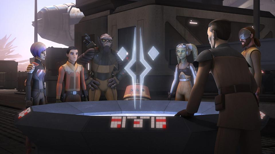 Star Wars Rebels is available to stream on Disney+