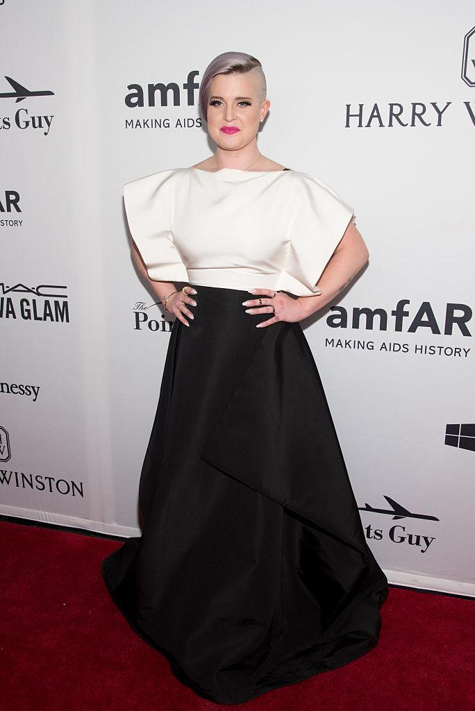 Kelly Osbourne attends the 7th Annual amfAR Inspiration Gala New York at Skylight at Moynihan Station on June 9, 2016 in New York City