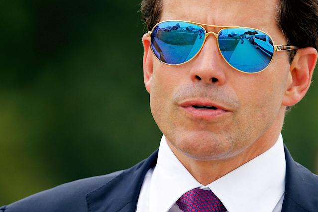 The Mooch was the communications director for the White House for 10 days.