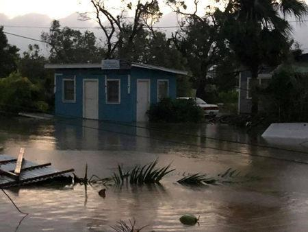 The aftermath of cyclone Gita is seen in Nuku'alofa, Tonga, February 13, 2018 in this picture obtained from social media. Facebook Noazky Langi/via REUTERS