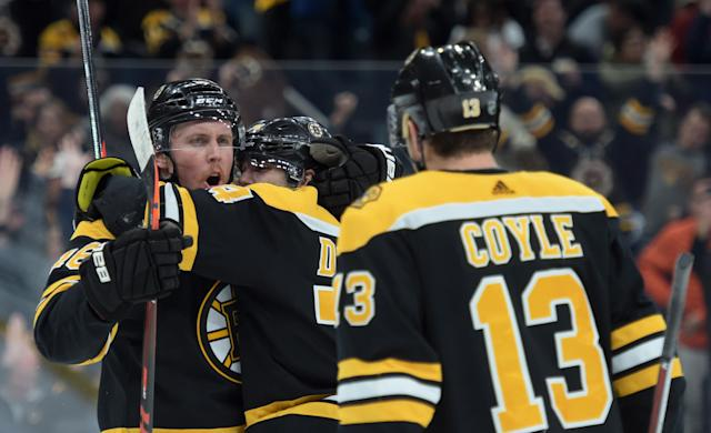 Start your Bruins with confidence this upcoming week. Mandatory Credit: Bob DeChiara-USA TODAY Sports