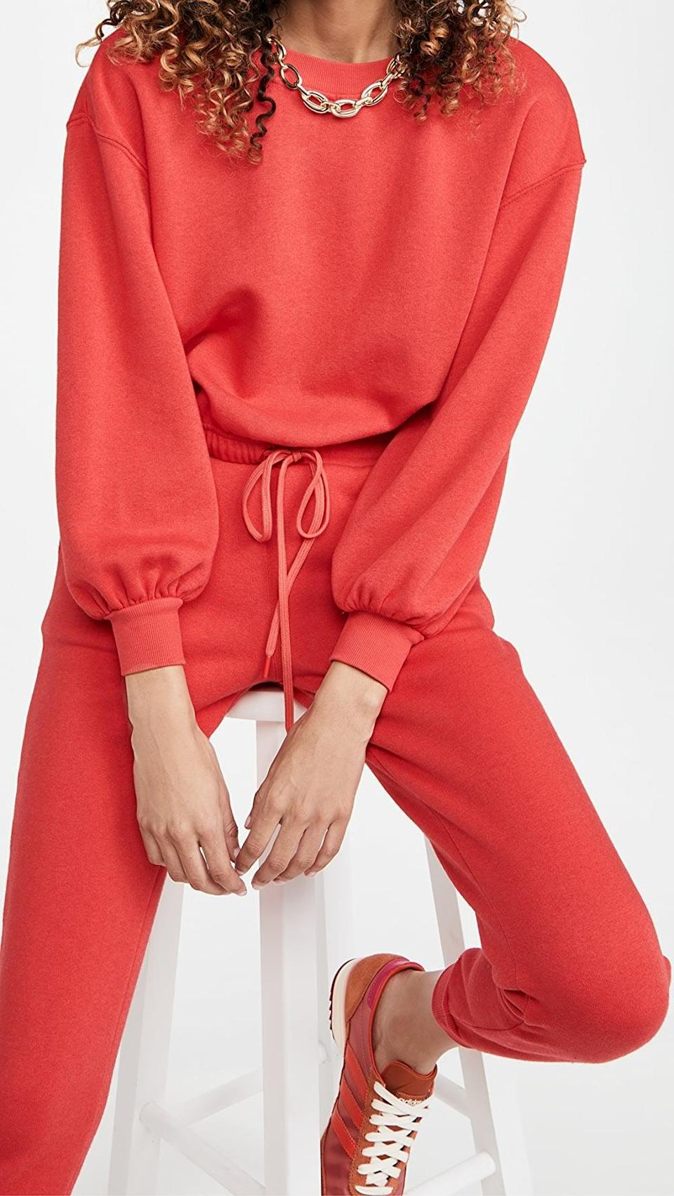 <p>This <span>Alice + Olivia Bernetta Pullover with Drawstring</span> ($175) is a polished sweatshirt we can get behind.</p>
