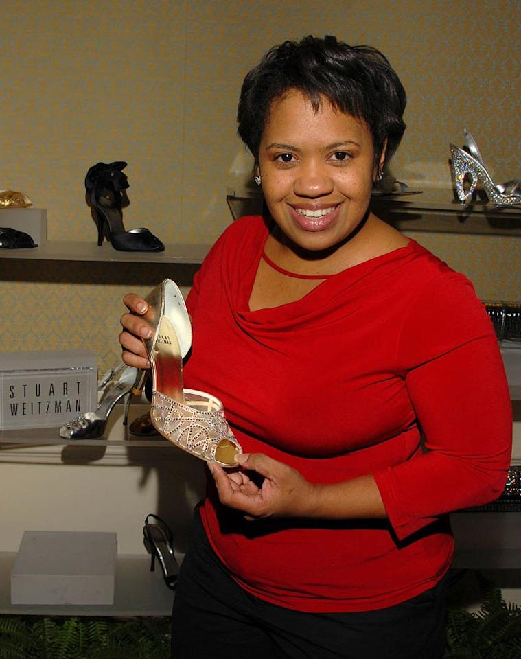 """Grey's Anatomy"" star Chandra Wilson loaded up on shoes at the Stuart Weitzman gift suite. Mark Sullivan/<a href=""http://www.wireimage.com"" target=""new"">WireImage.com</a> - February 20, 2008"