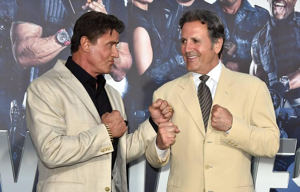 The Stallone brothers.