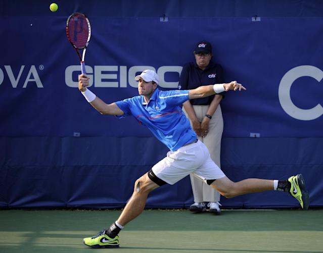 John Isner lost to countryman Steve Johnson at the Citi Open Wednesday, and proclaimed himself dissatisfied with his non-Stadium Court assignment.