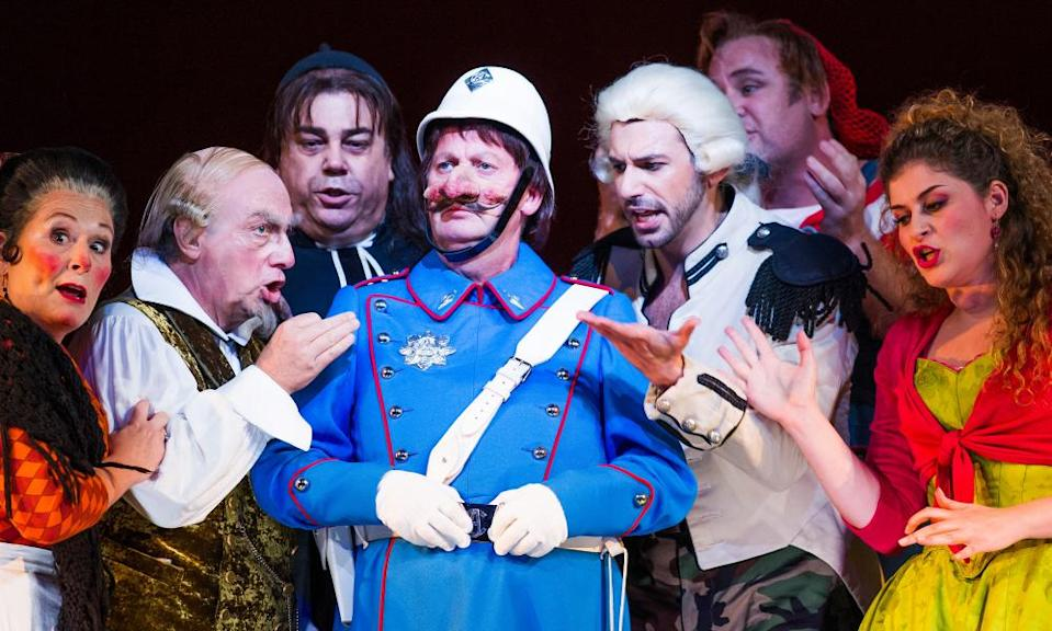 Rossini's Il Barbiere di Siviglia in a 2014 production at the Royal Opera House.