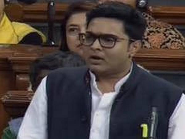 TMC leader Abhishek Banerjee (File photo/ANI)