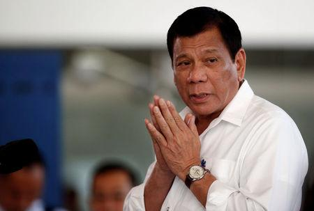 Philippines' Duterte says to stop quarrels with U.S. after Trump win
