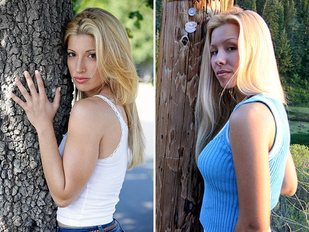 """Dirty Little Secret: The Jodi Arias Story"" Tania Raymonde and Jodi Arias"