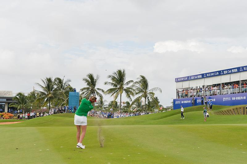 The Blue Bay LPGA was scheduled to take place in China in March.