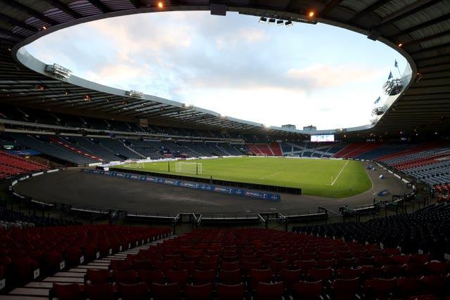 Scotland's First Minister Nicola Sturgeon hopes Hampden Park will be able to stage Euro 2020 matches