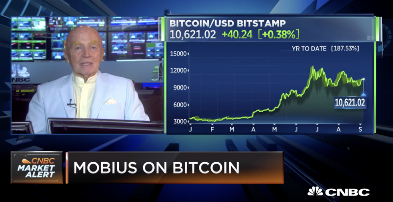 Cryptocurrency Not Proven Safe Haven Says Investor Mark Mobius