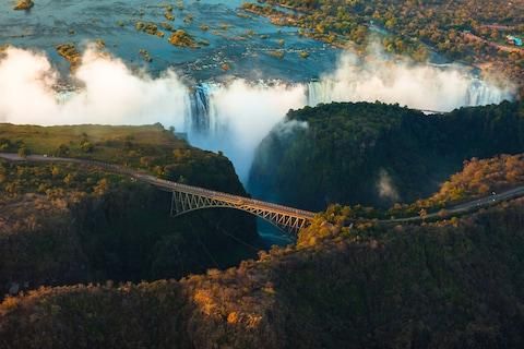Victoria Falls - Credit: GETTY