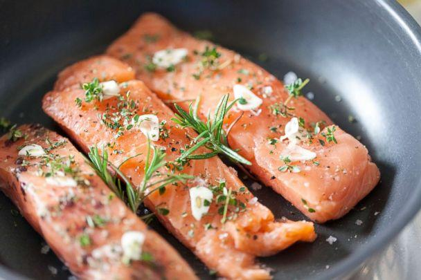 PHOTO: Salmon is pictured in this undated stock photo. (STOCK PHOTO/Getty Images)