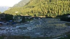 Eight missing after landslide in Swiss Alps