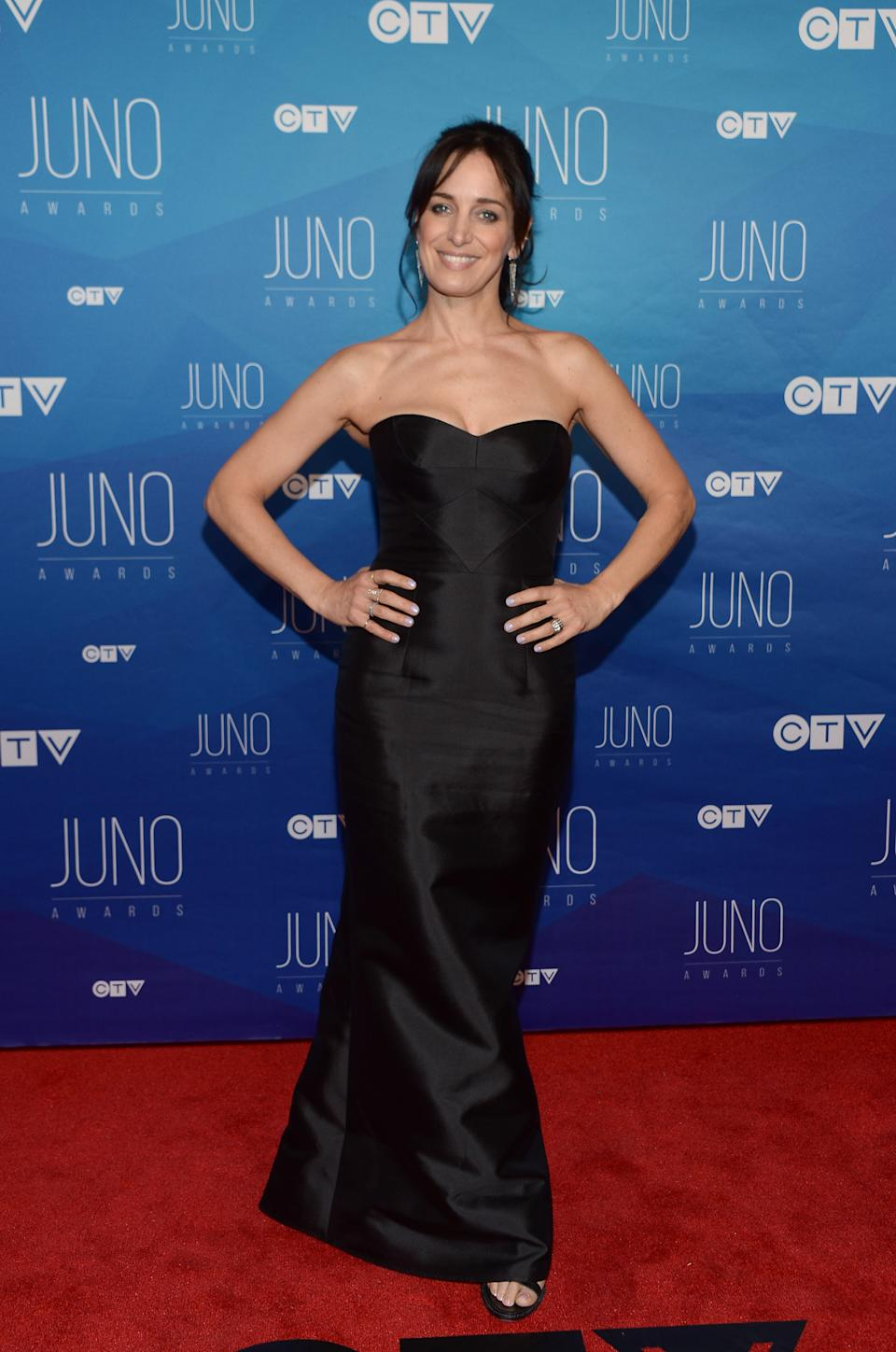 Kreviazuk at the  the 2017 Juno Awards. (Photo by George Pimentel/Getty Images)