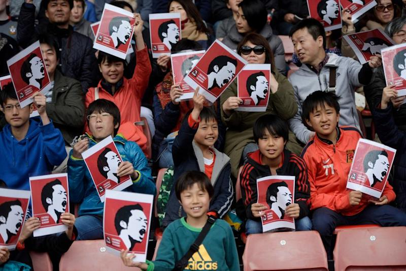 The Maya Yoshida appreciation society.