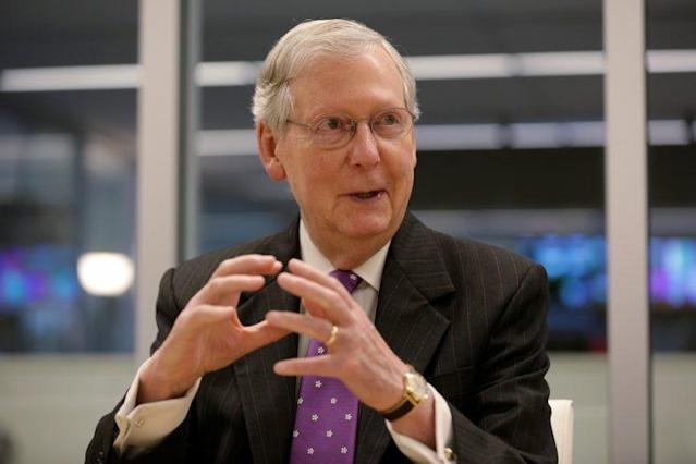 Senate Majority Leader Mitch McConnell, R-Ky. (Photo: Joshua Roberts/Reuters)