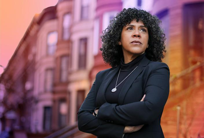 Dianne Morales, candidate for New York City mayor, supports defunding the police.