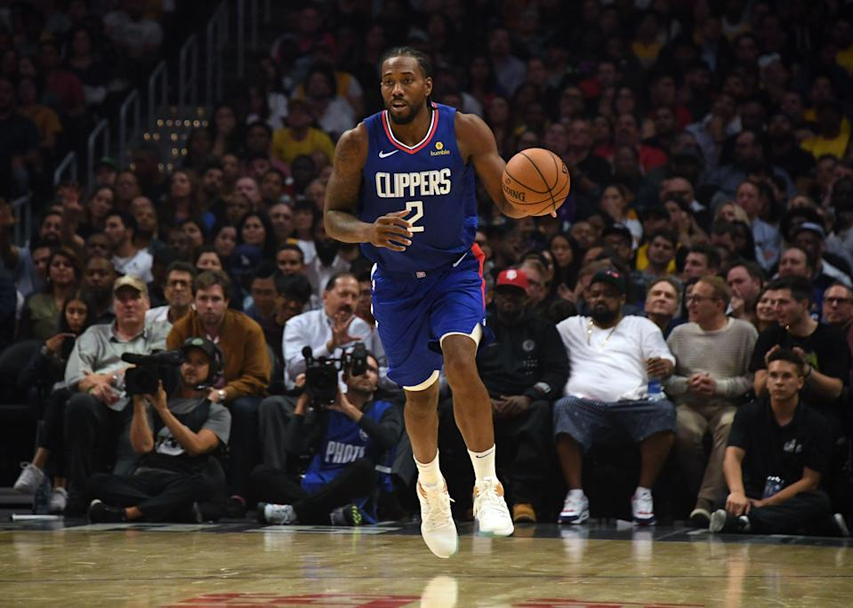 The Clippers overcame an injured Paul George and a record night from Danny Green to win the opening salvo in the battle of L.A (Kirby Lee/Reuters)
