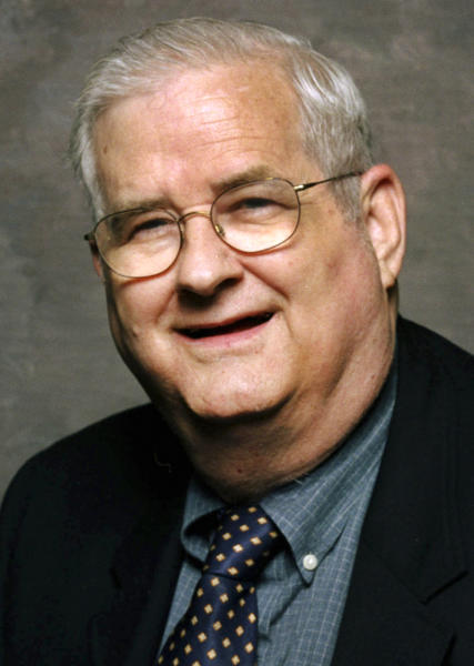 "In this photo taken in 2001 and provided by ESPN, college football commentator Carroll ""Beano"" Cook is shown. Cook died in his sleep Thursday, Oct. 10, 2012, the University of Pittsburgh announced. The 81 year-old commentator had worked for the sports network since 1986 and was the sports information director at his alma mater, the University of Pittsburgh, from 1956 to 1966. (AP Photo/ESPN)"