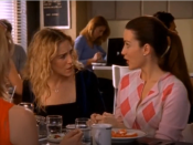 """<p>One of the messiest things Carrie ever did—and there are <a href=""""https://www.cosmopolitan.com/entertainment/tv/g32214703/sex-and-the-city-bad-friends-episodes/"""" rel=""""nofollow noopener"""" target=""""_blank"""" data-ylk=""""slk:a lot of messy things"""" class=""""link rapid-noclick-resp""""><em>a lot</em> of messy things</a>—was storm over to Charlotte's apartment to ask why Charlotte hadn't offered to loan her money so she could buy her apartment. Charlotte, for her part, delivers the best possible response: """"Carrie, I love you. But it is not my job to fix your finances. You are a thirty-five-year-old woman. You have to learn how to stand on your own."""" Although Charlotte eventually decides to give Carrie her engagement ring to put towards a down payment, her initial reaction is responsible and reasonable. Developing financial smarts is impossible if you never have to deal with the consequences of your choices. </p>"""