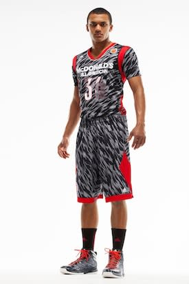 The East uniforms for the forthcoming McDonald's All-American Game — Adidas