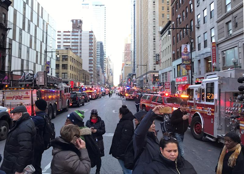 New York Port Authority Explosion: What We Know
