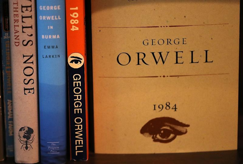 """Written in 1948, and published the following year, """"1984"""" depicted a chilling future world in which a totalitarian state controls people's thoughts and actions, suppressing any dissent"""