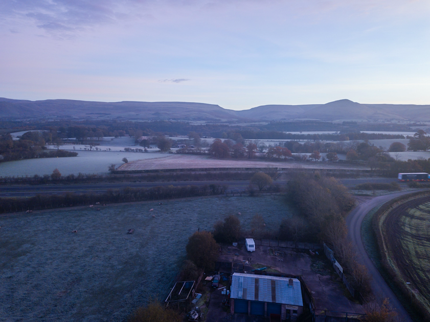 <p>A temp of -1 was recorded in Appleby, Cumbria. (Rex) </p>
